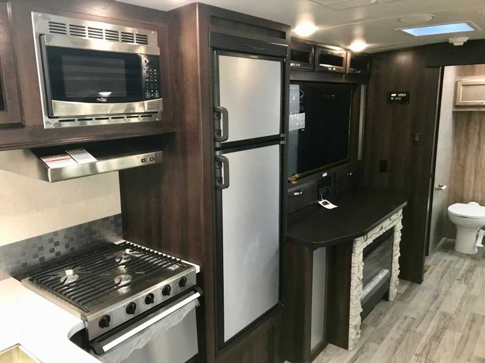New 2019 Jayco White Hawk 32kbs Travel Trailer Stock
