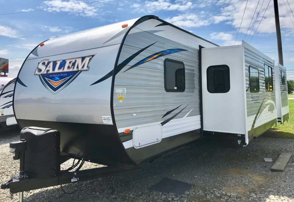 New 2019 Forest River Salem 31kqbts Travel Trailer Stock