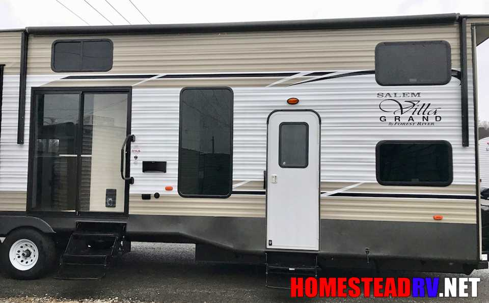 New 2018 Forest River Salem Grand Villa 42dlts Travel