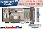2020 Salem Cruise Lite 171RBXL